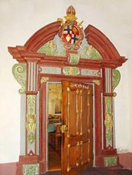 Refektorium - Eingangstür